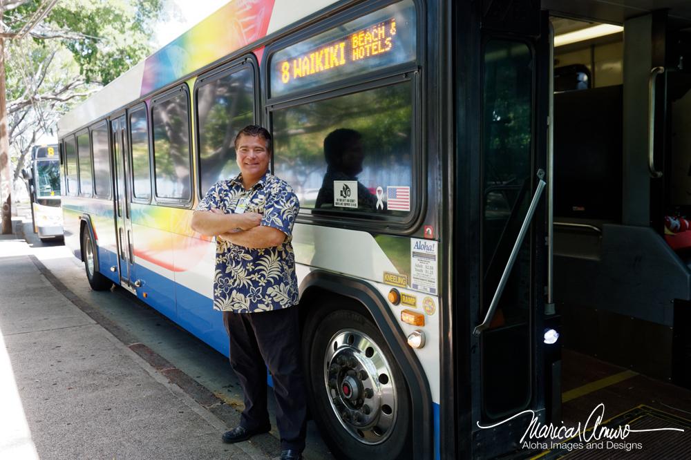 Jason Amuro The Bus Copyright by Maricar Amuro, Aloha Images and Designs
