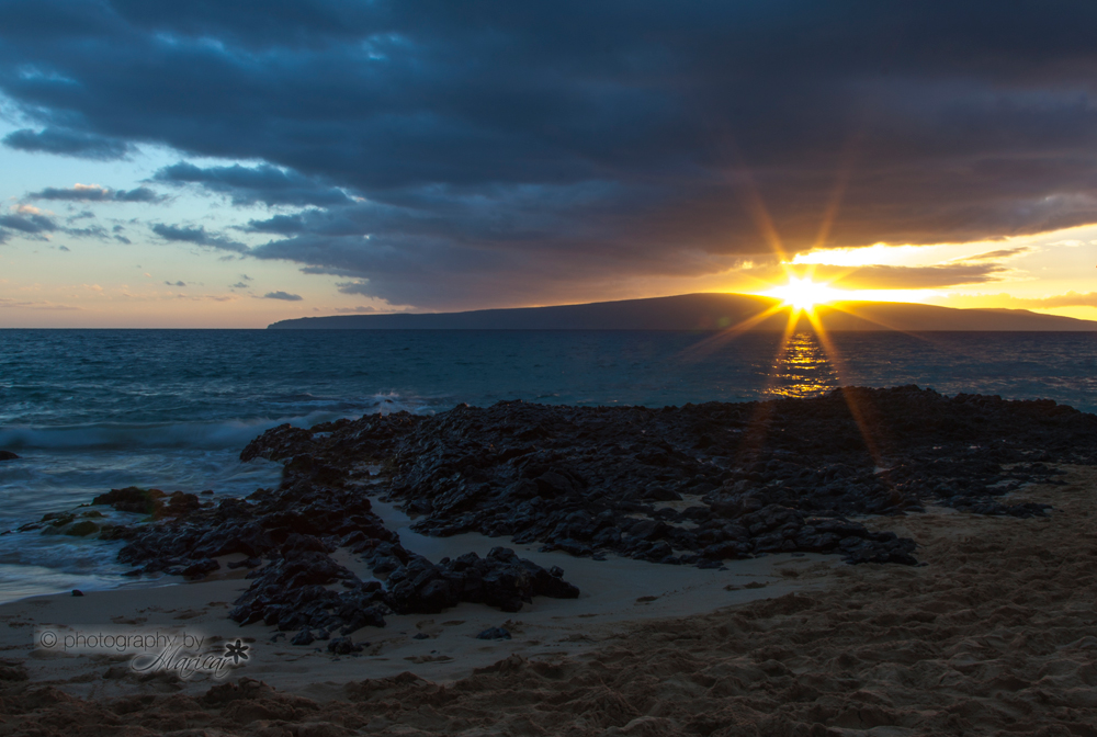 Makena Sunset Maui photography by Aloha Images and Designs
