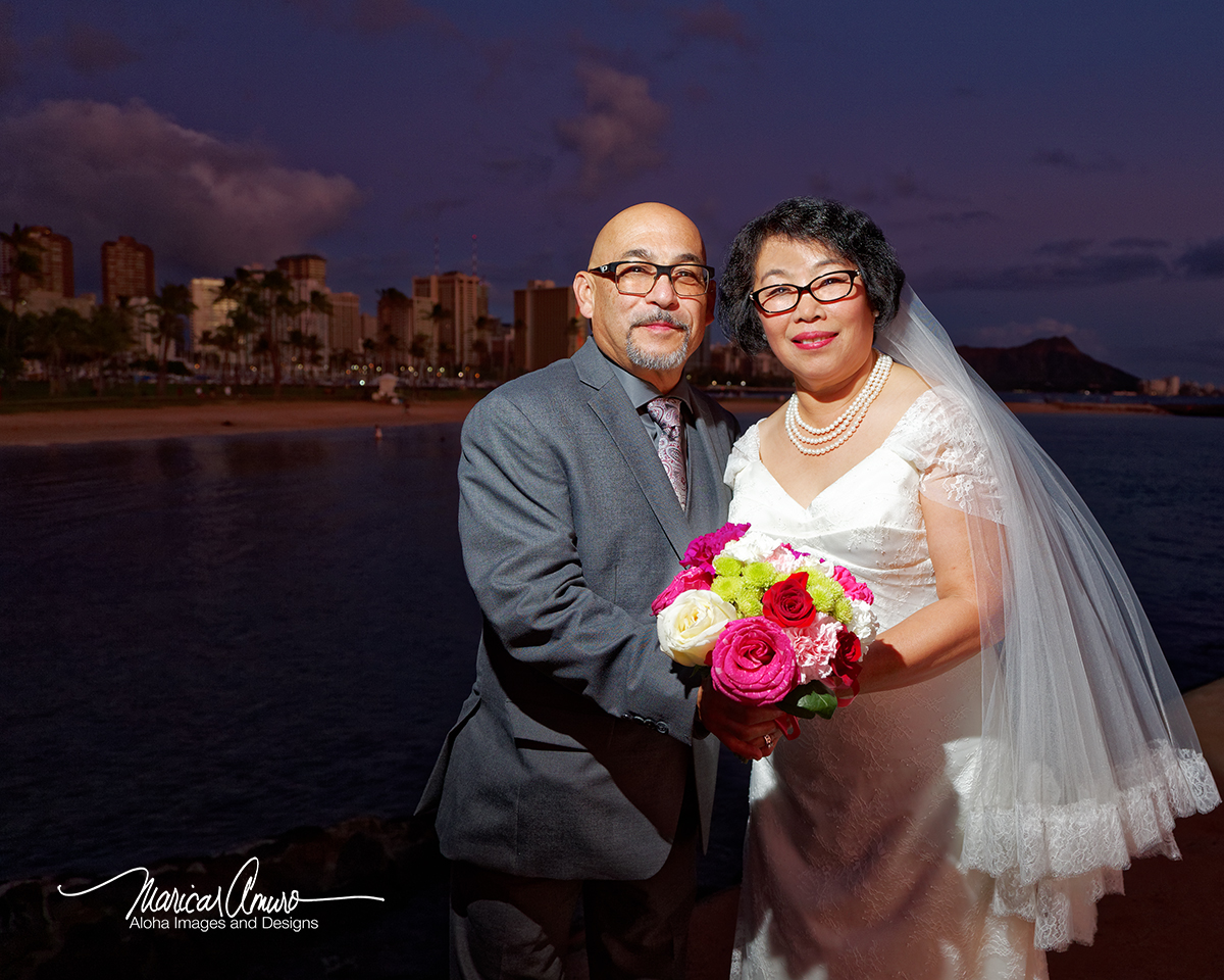 Robert and Linda Wedding by Maricar Amuro, Aloha Images and Designs