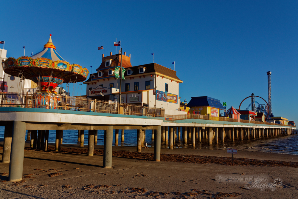 Galveston Pleasure Pier photography by Aloha Images and Designs