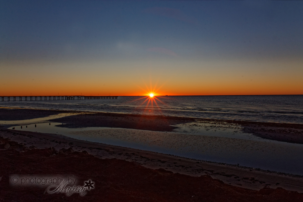 Galveston Sunrise photography by Aloha Images and Designs