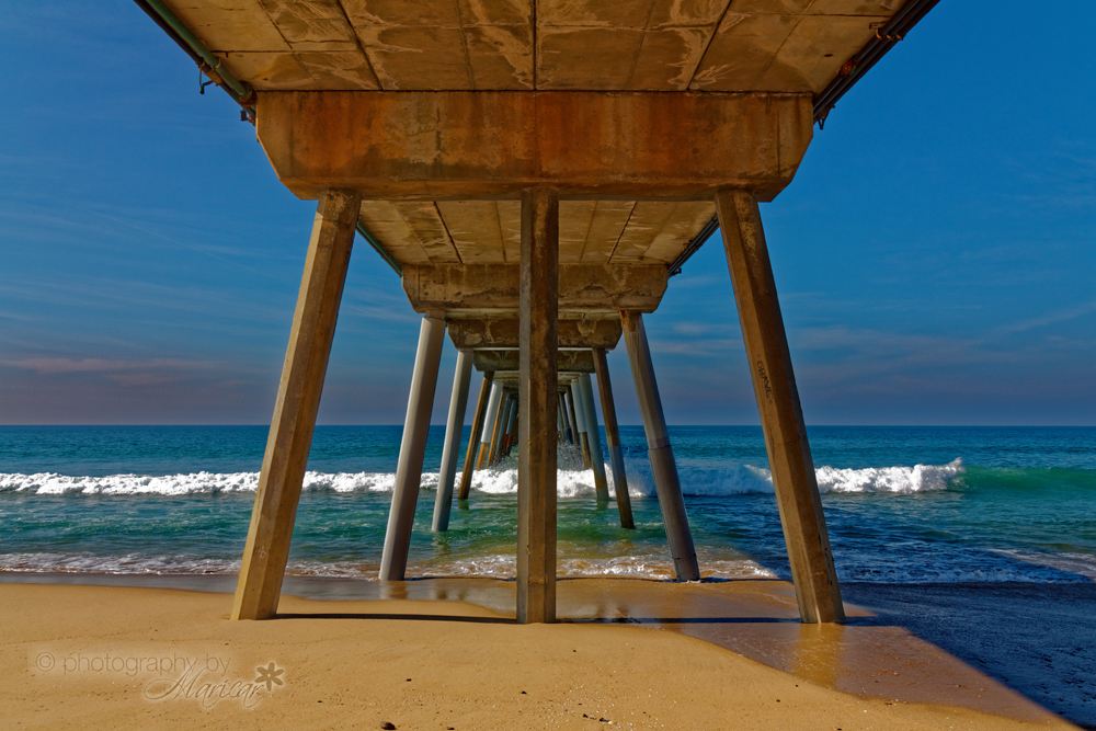 Hermosa Beach Pier photography by Aloha Images and Designs